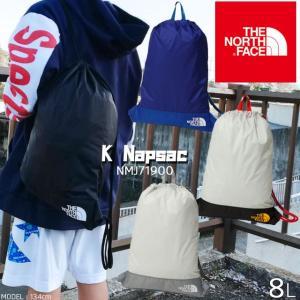 ザ・ノースフェイス キッズ ナップサック リュック NMJ71900 8L 男の子 女の子 ジュニア スポーツバッグ シューズバッグ小物入れ 巾着袋 ナップザック 黒 青 A4|smw