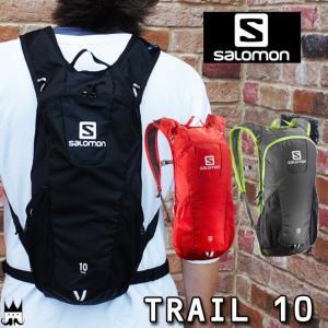 サロモン SALOMON メンズ レディース バックパック L37997500 L37997600 L37997800 トレイル10 10L デイパック ザック リュック トレイル スポーツ ランニング|smw