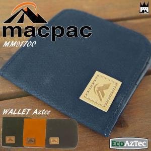 マックパック macpac メンズ レディース 二つ折り 財布 MM91700 ワレットアズテック ウォレット サイフ さいふ キャンバス オーガニックコットン エコ 耐久性|smw