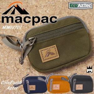 マックパック macpac メンズ レディース コインケース MM91701 コインポーチアズテック 小銭入れ ウォレット サイフ さいふ キャンバス オーガニックコットン 鍵|smw