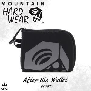 マウンテンハードウェア MOUNTAIN HARDWEAR メンズ レディース 二つ折り 財布 アフターシックスウォレット OE0893 二つ折り財布 さいふ サイフ ウォレット 黒|smw