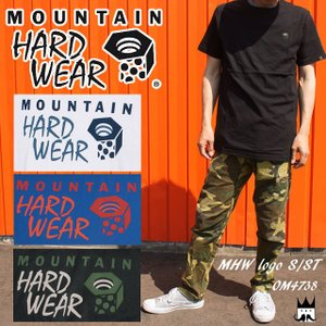 マウンテンハードウェア MOUNTAIN HARDWEAR メンズ Tシャツ MHW Logo S/ST OM4738 ロゴT 半袖 丸首 アパレル コットン100%|smw