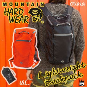 マウンテンハードウェア MOUNTAIN HARDWEAR メンズ レディース バックパック OU6261 ライトウェイトバックパック デイパック リュック バッグ リュックサック 黒|smw