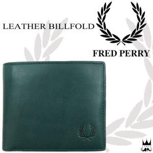 フレッドペリー FRED PERRY 財布 メンズ レディース F19867 レザービルホールド 本革 牛革 栃木レザー 01 NAVY ネイビー 紺 smw