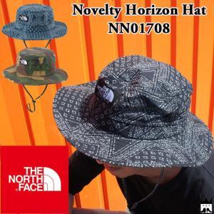 ザ・ノースフェイス THE NORTH FACE メンズ レディース 帽子 NN01708 ノベルティホライズンハット ユニセックス ベンチレーション メッシュ キャンプ フェス|smw