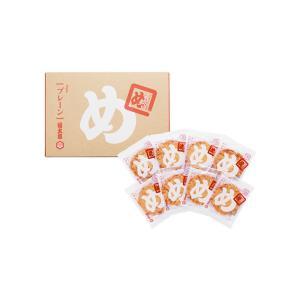福太郎 めんべい 辛子めんたい風味 プレーン (2枚×8袋入り)  九州 福岡 博多 お土産