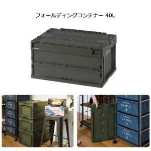 東谷 あづまや 収納用品 フォールディングコンテナー 40L CF-S41NR 【ZAKK】コンテナー 車 クローゼット 折りたたみ|snb-shop