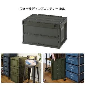 東谷 あづまや 収納用品 フォールディングコンテナー 50L CF-S51NR 【ZAKK】コンテナー 車 クローゼット 折りたたみ|snb-shop