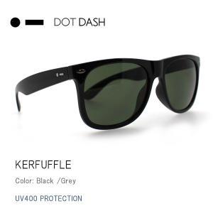 サングラス サングラス ドットダッシュ DOTDASH サングラス UVカット サングラス トイ サングラス KERFUFFLE Black Grey ae217d06-bkg|snb-shop
