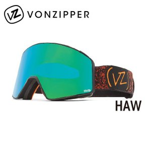 2019 VONZIPPER ボンジッパー CAPSULE HALLDOR BLACK SATIN/QUASAR CHROME AI21M700 【日本正規品/スノーボード/ジャパンフィット】|snb-shop