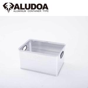 ALUDOA アルドア ALUDOA OPEN アルドア オープン (L) 1002 【コンテナボックス/アルミ/アウトドア/キャンプ/軽量/ローテーブル】 snb-shop