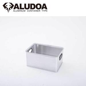 ALUDOA アルドア ALUDOA OPEN アルドア オープン (M) 1003 【コンテナボックス/アルミ/アウトドア/キャンプ/軽量/ローテーブル】 snb-shop