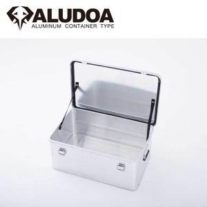 ALUDOA アルドア ALUDOA Standard アルドア スタンダード (L) 3002 【コンテナボックス/アルミ/アウトドア/キャンプ/軽量/ローテーブル】 snb-shop