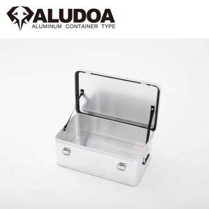 ALUDOA アルドア ALUDOA Standard アルドア スタンダード (M) 3003 【コンテナボックス/アルミ/アウトドア/キャンプ/軽量/ローテーブル】 snb-shop