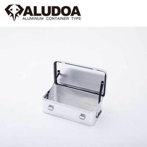 ALUDOA アルドア ALUDOA Standard アルドア スタンダード (S) 3004 【コンテナボックス/アルミ/アウトドア/キャンプ/軽量/ローテーブル】 snb-shop