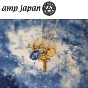 amp japan アンプジャパン ネックレス メダイユミラキュルーズミックスネックレス ブルーエポキシ Medaille Miraculeuse Mix Necklace Blue Epoxy 16AHK-176|snb-shop