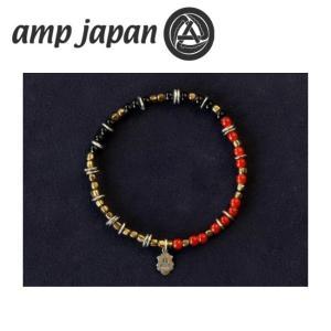 amp japan アンプジャパン Triple part Beads RED トリプル パート ビーズ HYHK-411RD 【アクセサリー/ブレスレット/腕輪/ビーズ】 snb-shop