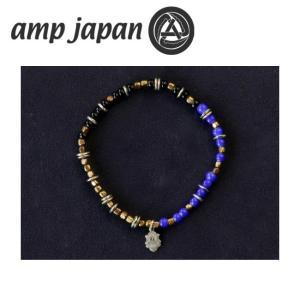amp japan アンプジャパン Triple Part Beads Navy トリプル パート ビーズ HYHK-411NV 【アクセサリー/ブレスレット/腕輪/ビーズ】 snb-shop