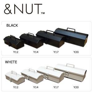 &NUT アンドナット MINIATURE STEEL TOOLBOX - COBAKO Y12 【アウトドア/箱/物入れ/キャンプ/工具入れ】 snb-shop