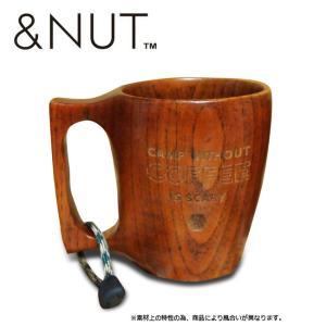 &NUT アンドナット WOODEN COFFEE MUG ウッデン コーヒー マグ 【アウトドア/キャンプ/木/マグカップ】 snb-shop
