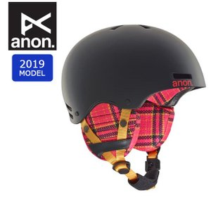 2019 anon アノン RIME FLANNEL BLACK 13286104024 【ヘルメット/日本正規品/キッズ/ジュニア】|snb-shop