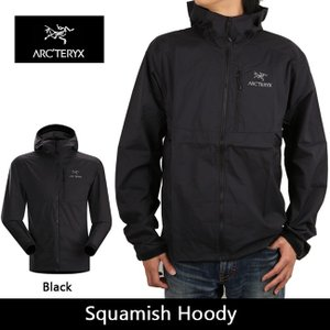 arcteryx アークテリクス アウター Squamish Hoody Black 13647|snb-shop