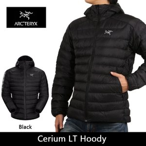 arcteryx アークテリクス アウター Cerium LT Hoody Black 18013|snb-shop