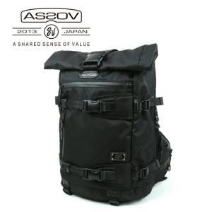 アッソブ AS2OV バックパック CORDURA DOBBY 305D BACK PACK/BLACK/061401 【カバン】日本正規品|snb-shop