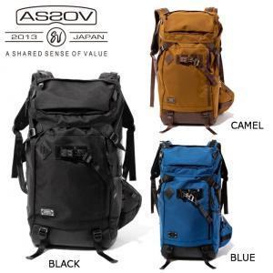アッソブ AS2OV バックパック EXCLUSIVE BALLISTIC NYLON BACK PACK/BLACK/CAMEL/BLUE/061301-10/061301-24/061301-70 【カバン】日本正規品|snb-shop