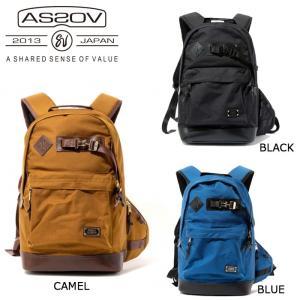 アッソブ AS2OV バックパック EXCLUSIVE BALLISTIC NYLON DAY PACK/BLACK/CAMEL/BLUE/061302-10/061302-24/061302-70 【カバン】日本正規品|snb-shop
