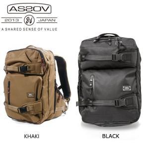アッソブ AS2OV バックパック CORDURA DOBBY 305D 3WAY BAG/BLACK/061405 【カバン】日本正規品|snb-shop
