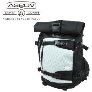 アッソブ AS2OV バックパックX-PAC × CORDURA DOBBY 305D BACK PACK /061401-x-10 【カバン】日本正規品|snb-shop