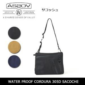 アッソブ AS2OV サコッシュ WATER PROOF CORDURA 305D SACOCHE 141603 【カバン】日本正規品|snb-shop