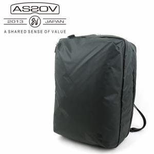 AS2OV/アッソブ  TRAVEL SERIES TRAVEL CASE 3WAY 061800 ...