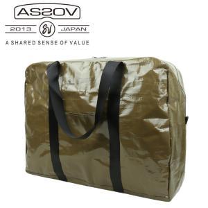 AS2OV アッソブ PP CLOTH DUFFEL 161800-65 【アウトドア/鞄/ダッフルバッグ/軽量/防水】|snb-shop