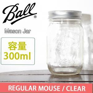 Ball ボール ビン容器 メイソンジャー 300ml/CLEAR snb-shop