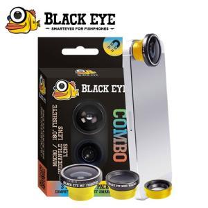 BLACK EYE/ブラックアイ COMBO コンボ/D11505000 フィッシュアイレンズ(180°) ワイドレンズ(160°) マクロレンズ(接写)|snb-shop