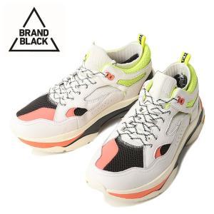 BRAND BLACK ブランドブラック SAGA WBK WHT 44888-002 【アウトドア/スニーカー/靴】|snb-shop