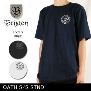 ブリクストン BRIXTON OATH S/S STND /06281 【服】 Tシャツ Uネック|snb-shop