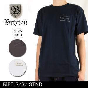 ブリクストン BRIXTON RIFT S/S/ STND /06284 【服】 Tシャツ Uネック|snb-shop