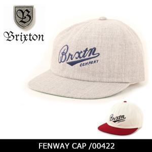 ブリクストン BRIXTON FENWAY CAP /00422 【帽子】 キャップ 帽子 ストリート アウトドア 秋冬物|snb-shop
