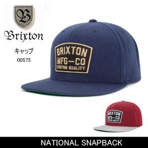 ブリクストン BRIXTON NATIONAL SNAPBACK /00575 【帽子】 キャップ 帽子 ストリート アウトドア 秋冬物|snb-shop