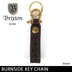 ブリクストン BRIXTON キーチェーン BURNSIDE KEY CHAIN 05184 【雑貨】キーリング 鍵|snb-shop