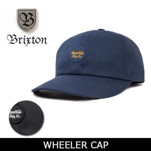 ブリクストン BRIXTON キャップ WHEELER CAP 00424 【帽子】 帽子 ストリート アウトドア 秋冬物|snb-shop