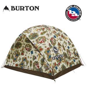 BURTON バートン BIG AGNES ビッグアグネス キャンプ テント Rabbit Ears 6 Duntadun Print 16702101966 アウトドア キャンプ 6人用テント|snb-shop