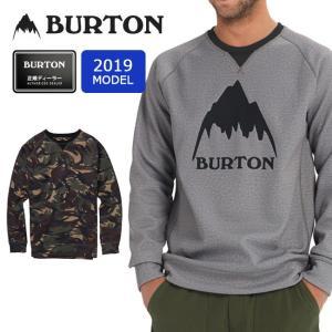 2019 BURTON バートン MB CROWN BNDD CREW 164651 ボンデット【スウェット/日本正規品/撥水/防水】|snb-shop