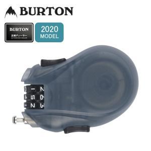 2020 BURTON バートン Cable Lock ケーブルロック 108021 【ダイヤル錠/盗難防止/スノーボードアクセサリー/アクセサリー/スノーボード/日本正規品】