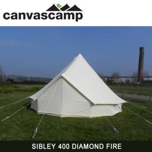 CanvasCamp キャンバスキャンプ  テント SIBLEY 400 DIAMOND FIRE 【TENTARP】【TENT】|snb-shop