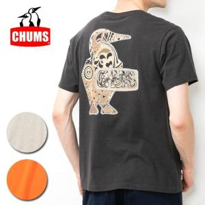 CHUMS チャムス Psychedelic Booby T-Shirt サイケデリックブービーTシャツ CH01-1522 【アウトドア/日本正規品/Tシャツ/メンズ】【メール便・代引不可】|snb-shop