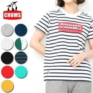 チャムス chums Tシャツ CHUMS Logo T-Shirt Women's チャムスロゴTシャツ CH11-1324 レディース 正規品【服】【t-cnr】【メール便発送・代引き不可】|snb-shop